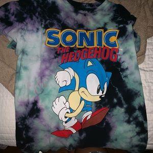 Tops F21 Sonic Hedgehog Tshirt Poshmark